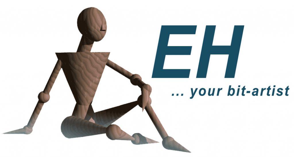 Logo EH ...your bit-artist